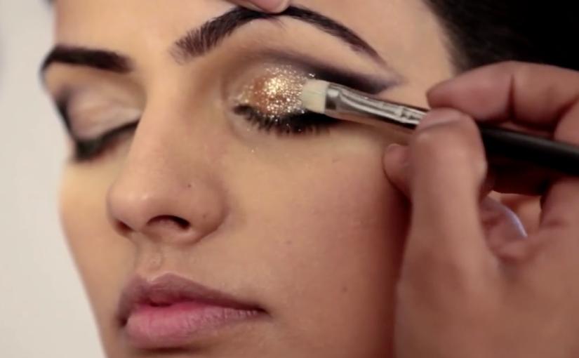 Makeup How To Metallic Gold Cat Eye Glamrs