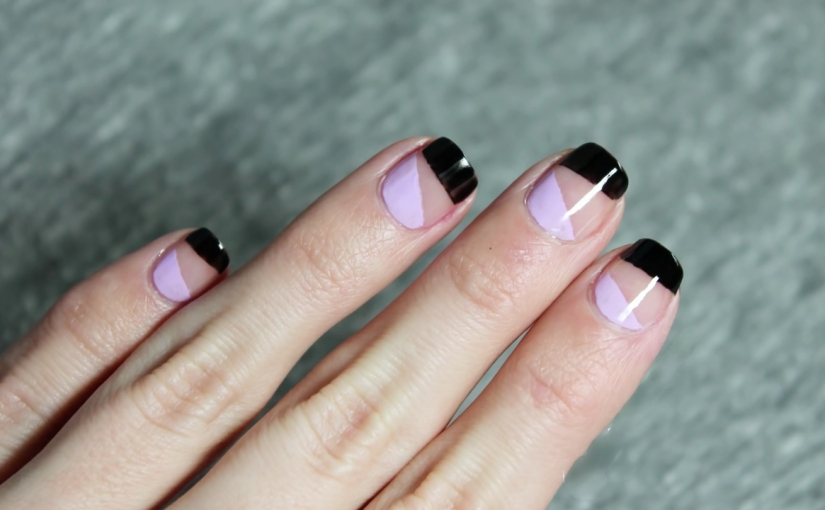 Quick And Easy Negative Space Nail Art Glamrs