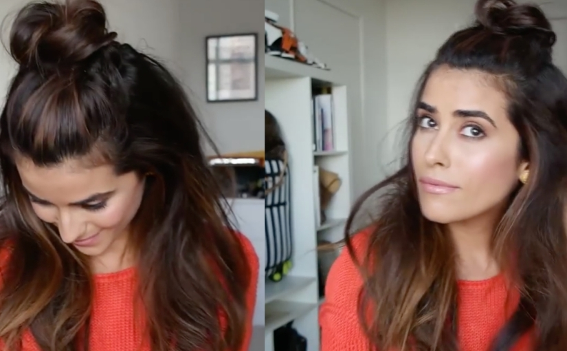 How To Create A Mini Top Knot Glamrs
