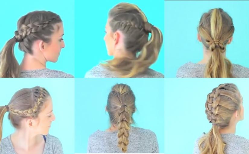 Strange 6 Quick And Easy Sporty Workout Hairstyles Glamrs Schematic Wiring Diagrams Phreekkolirunnerswayorg