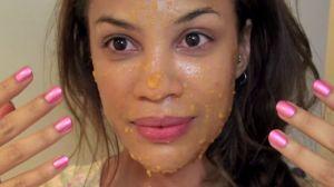 acne papaya mask