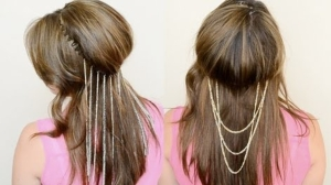 diy chain head bands