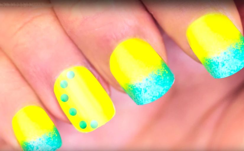 Step By Step Nail Art Tutorial Ombre Nails Glamrs