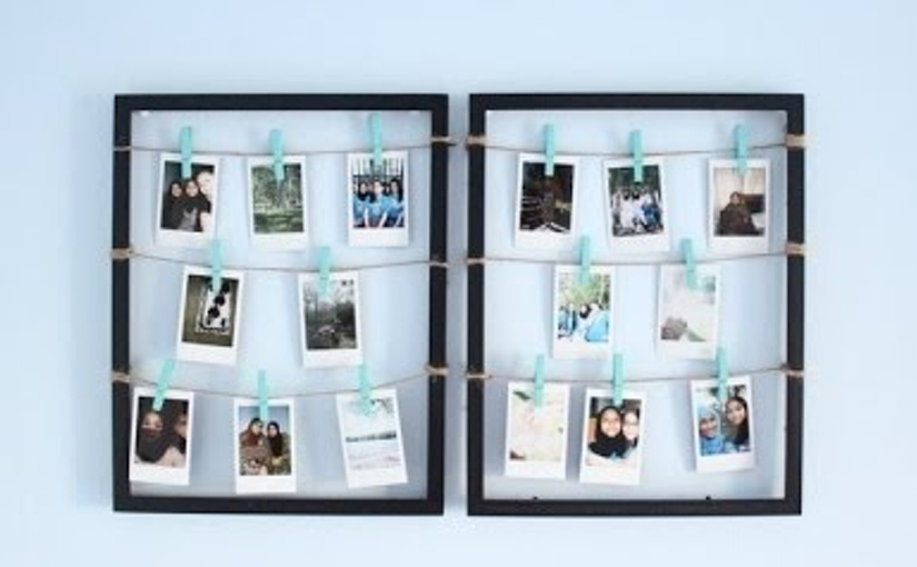 Diy Clothespin Picture Frame Glamrs